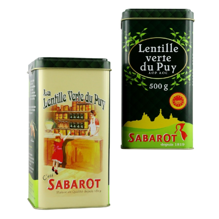 Lentilles vertes du Puy 500g