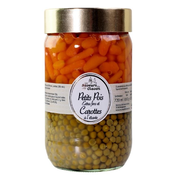 pois et jeunes carottes 72 cl