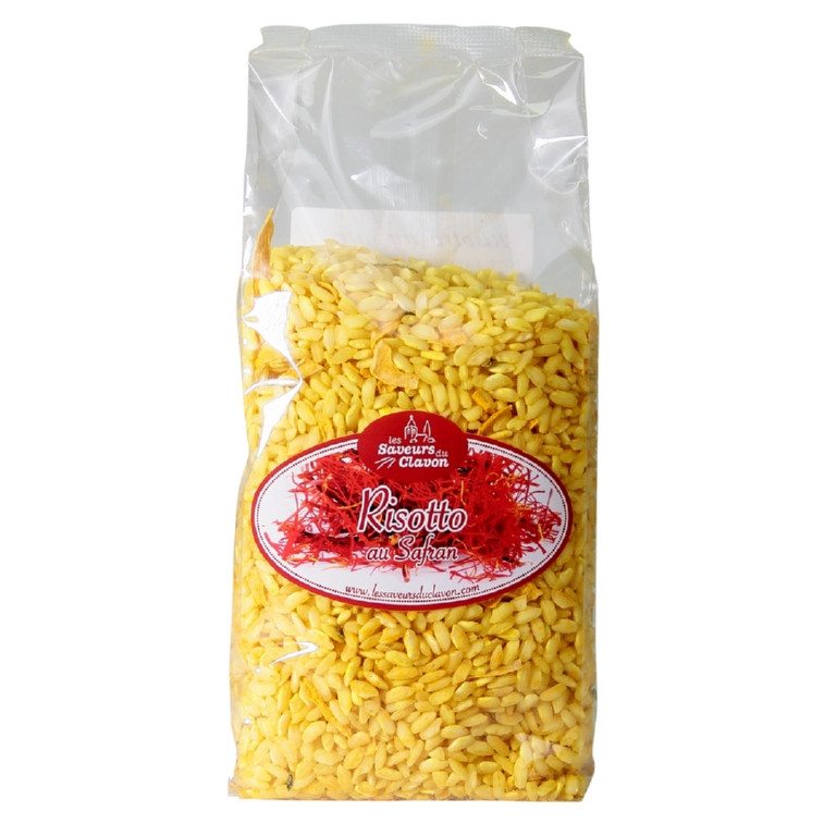 risotto au safran