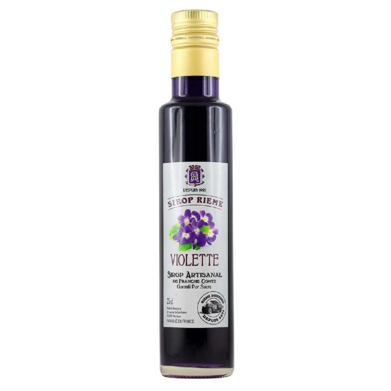 """Sirop de Violette """"Rieme"""" bt 25cl"""