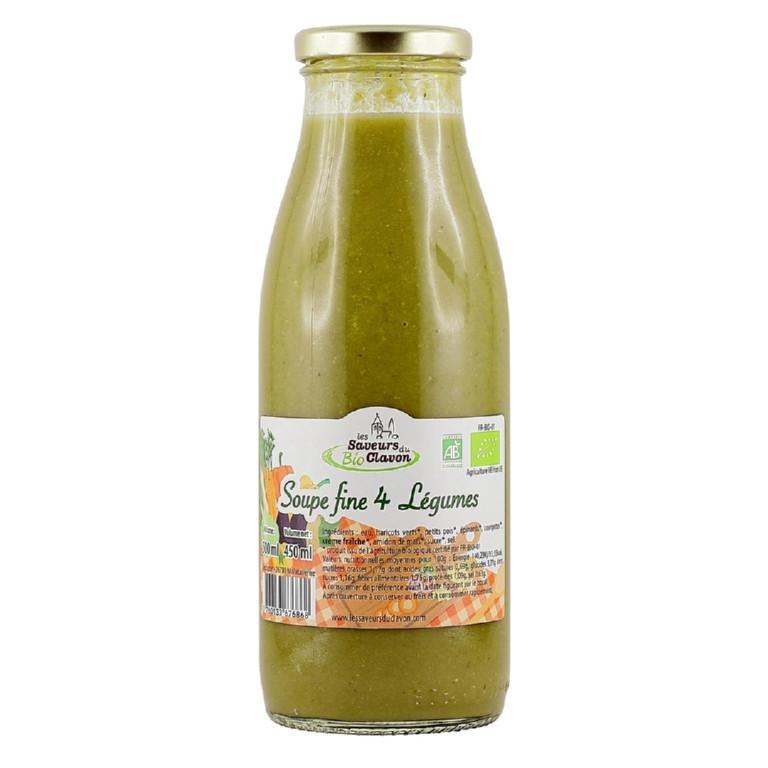 soupe biologique de légumes 720ml