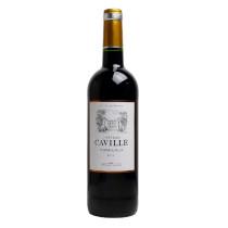 """BORDEAUX ROUGE """" châteaux Caville 2014"""""""