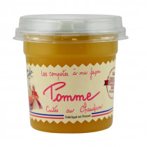 COMPOTE 92% FRUITS POMMES NATURE