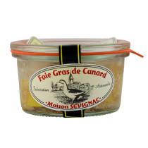 foie gras de canard entier à la fleur de sel bocal 100g