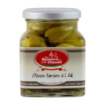 Olives farcies à l'ail 314ml