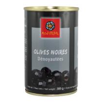 """Olives Noires Dénoyautées """"Montperal"""" boite 314ml"""
