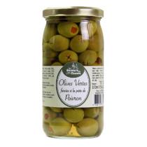 olives vertes farcies aux poivrons 340ml