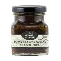 pâte d'olives noires à la truffe noire