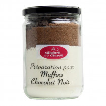 Préparation muffins chocolat les saveurs du clavon