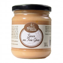 Sauce au foie gras bocal