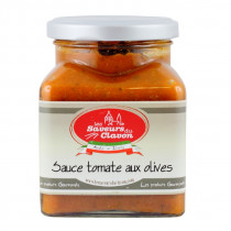 Sauce tomate aux olives 314ml