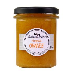 MARMELADE D'ORANGE - MARIUS ET MANON - 230 Gr