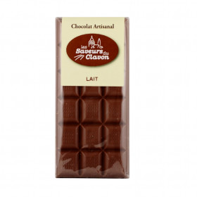 """CHOCOLAT LAIT """"Les Saveurs du Clavon"""""""