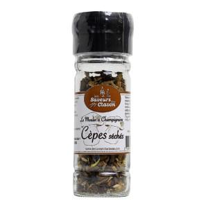 moulin à champignons cèpes
